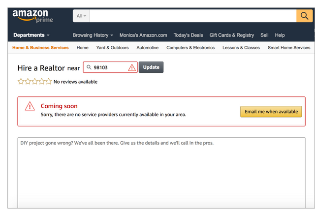 Could you sell your house on Amazon? featured image