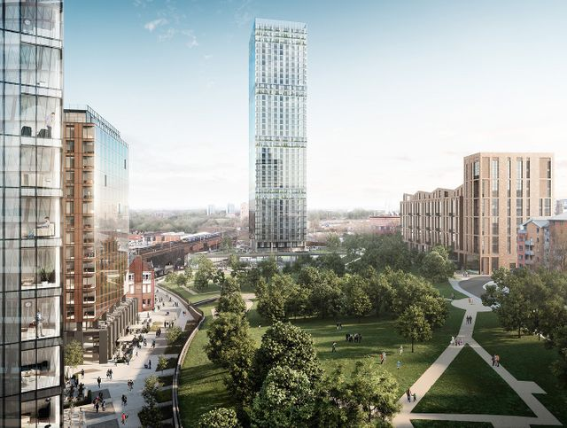 Angel Meadow plans submitted featured image