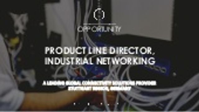 We are recruiting a new Product Line Director for an industrial technology client in Germany featured image