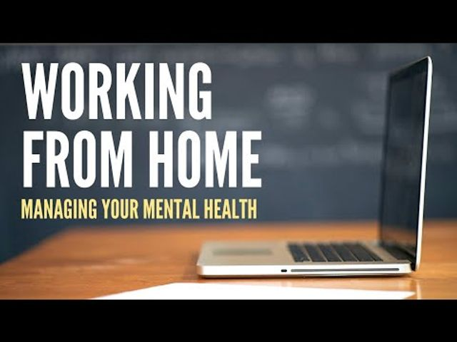 5 great tips to manage your mental health whilst working remotely featured image