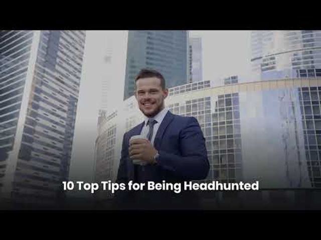 10 top tips for being headhunted featured image