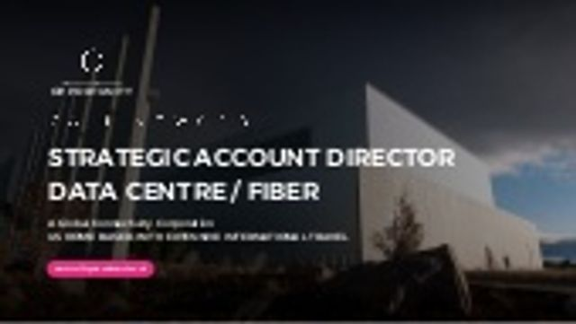 Strategic Account Director - Data Centers, anywhere West Coast US featured image
