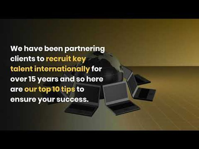 10 top tips to successfully recruit internationally featured image