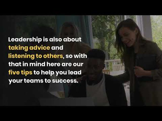 5 awesome secrets to team leadership featured image