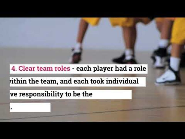 """4 things we learnt from the """"Last Dance"""" Netflix documentary on building high performing teams featured image"""