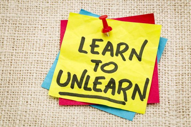 """Why """"Unlearning"""" is so important as you progress in your career! featured image"""