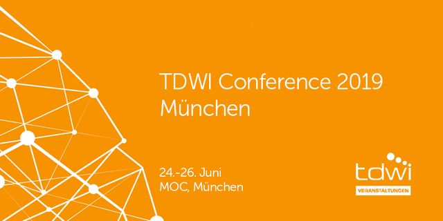 A preview of TDWI 2019 - Munich Day 1 featured image