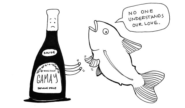 """""""You never, ever pair red wine with fish."""" featured image"""