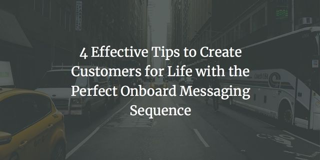 Create Customers with an Onboard Messaging Sequence featured image