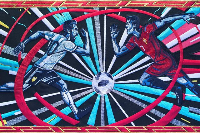 BBC tapestry tells World Cup story featured image