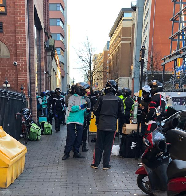 Deliveroo? Driverless? featured image