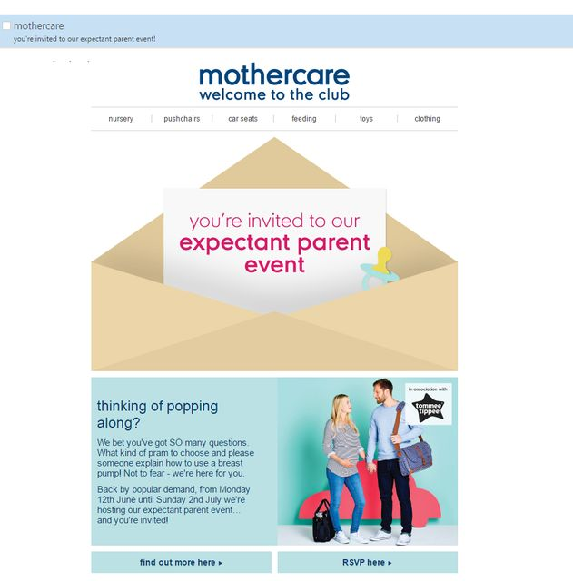 """""""Expectant parent... who? Me?!?"""" When email marketing goes wrong... featured image"""