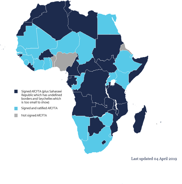 Ratification of the Agreement establishing the African Continental Free Trade Area featured image