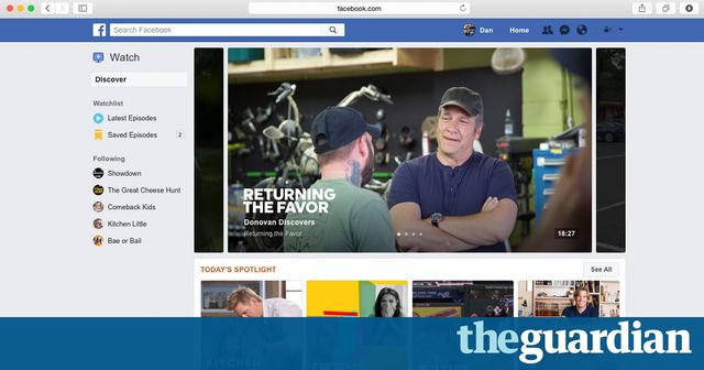 News: Facebook takes on YouTube featured image
