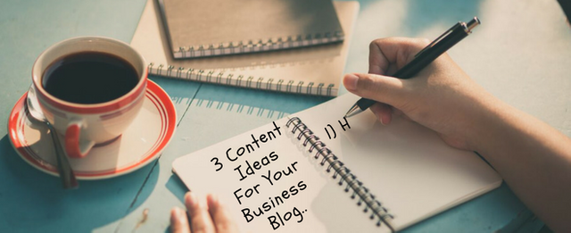 3 content ideas for your business blog featured image