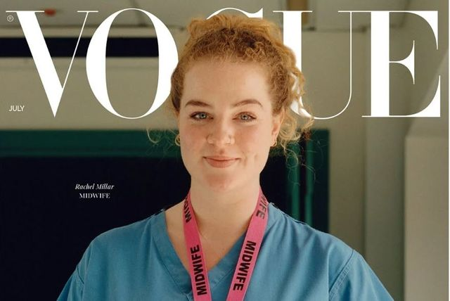"""""""To resume to 'normal' would be a step in the wrong direction."""" VOGUE, July 2020 featured image"""