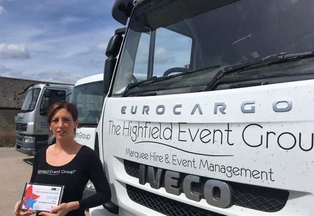 Award for Burwell Based Marquee Company featured image