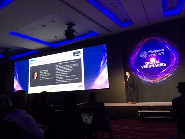 BluePrism World 2018 - Highlights of the AI world of Robot Processing Automation (RPA) featured image