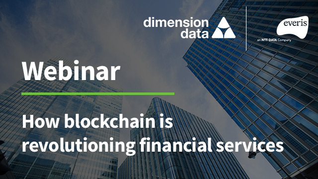 How blockchain is revolutionising financial services featured image