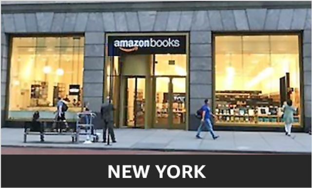 Amazon Bookstore - subtly blending physical and digital experience featured image