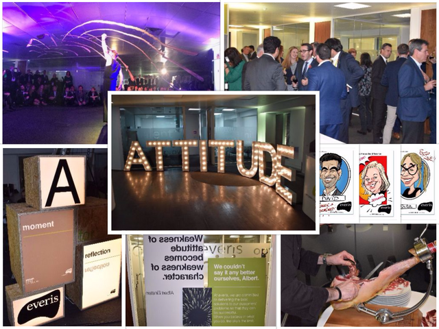 """""""It's clear that the positive attitude filters down from the top."""" - what our clients said about our opening party! featured image"""