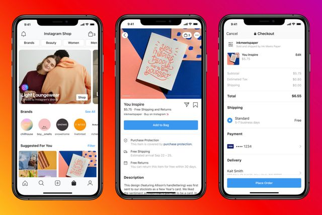 Instagram Furthers Social Commerce Push With New Shop Page featured image