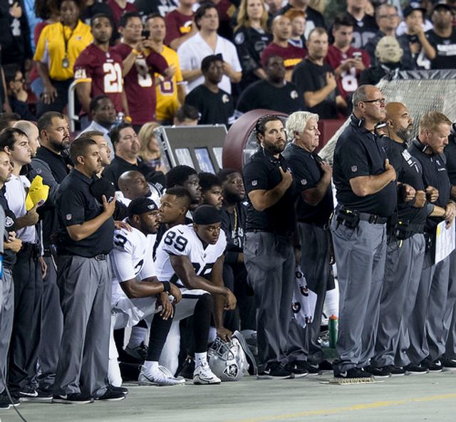 The Narrative That Could Have Been: Kneeling for the National Anthem is Patriotic featured image
