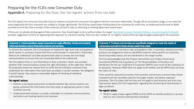 Preparing for the FCA's new Consumer Duty featured image