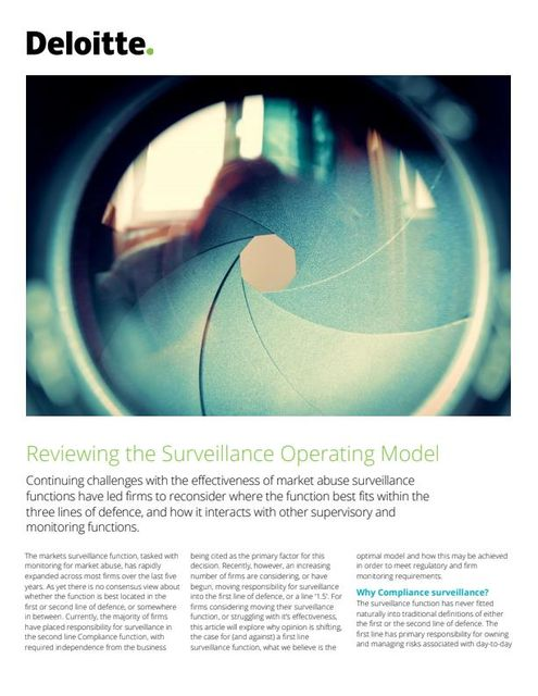 Reviewing the Surveillance Operating Model featured image