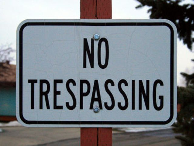 Protesters Trespassing featured image