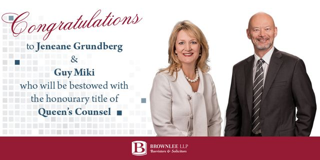 Partners To Be Bestowed With Honourary Queen's Counsel Designation featured image