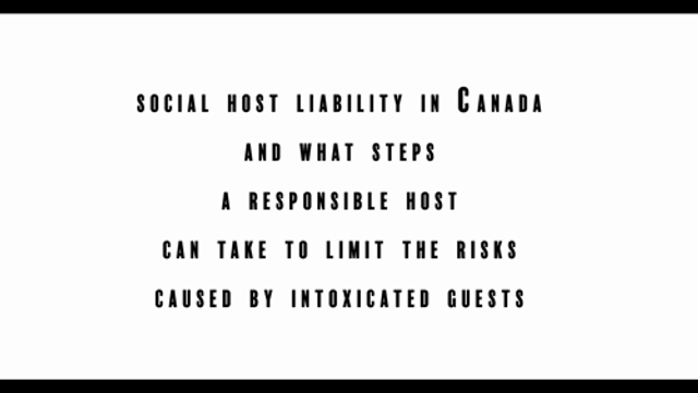 Social Host Liability in Canada and What Steps A Responsible Host Can Take to Limit the Risks Caused by Intoxicated Guests featured image