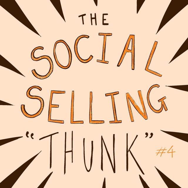 The #Social Selling 'Thunk' #4...with the CFO. featured image