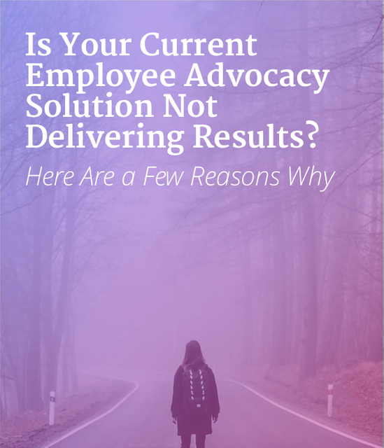 Employee Advocacy Solution, Where Are My Results? featured image