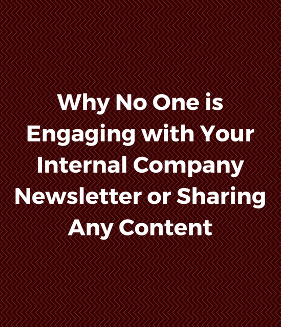 Why No One is Engaging with or Sharing Your Company Content featured image