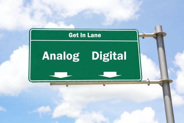 Analogue or Digital...which lane are you and your organisation in..? featured image