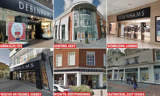 Debenhams will shut 19 stores this MONTH with 28 more earmarked for closure in fresh blow to Britain featured image