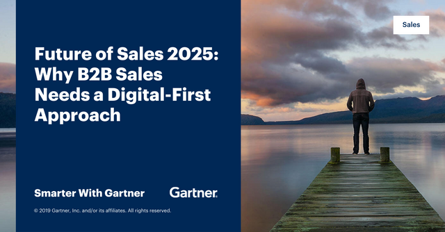 Gartner Says 80% of B2B Sales Interactions Between Suppliers and Buyers Will Occur in Digital Channels by 2025 featured image