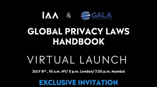 Join GALA and the IAA for a special event to launch the Global Privacy Laws Handbook, this Wednesday 8th July featured image