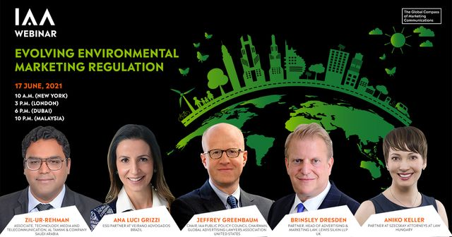 Register now for IAA webinar on environmental advertising at 3 p.m. this Thursday 17th June with a truly global panel of speakers. featured image