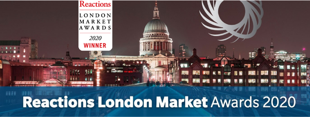 AkinovA named 'InsurTech Company of the Year' for a second year in a row at the Reactions 2020 London Market Awards featured image