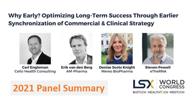 Insights into self-commercialization and the need for earlier commercial planning with Biotech leaders featured image
