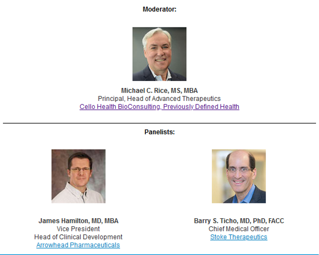 Cello Health BioConsulting's Next Insight Series Webinar- The Emerging Role of Nucleic Acid Therapeutics: Resuscitating Cardiovascular Drug Development with Disruptive Therapies featured image