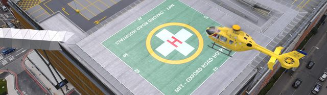 Construction work has begun on the first helipad of its kind in central Manchester featured image