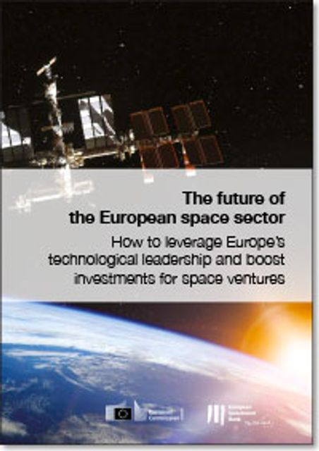 EIB report on the Future of European Space sector featured image