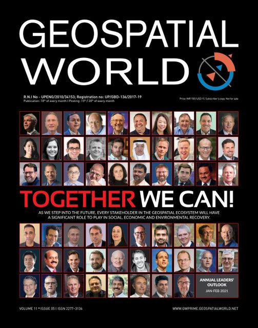 Geospatial world view for the year ahead featured image