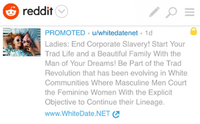 Reddit Removes Racist Ad and Apologizes featured image