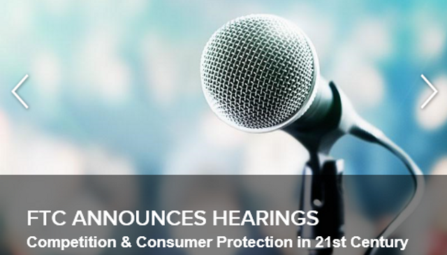 FTC to Hold Hearings on Competition and Consumer Protection in the 21st Century featured image