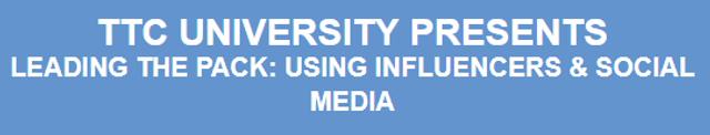 Influencer Seminar Next Week (Both Live & Webinar) featured image