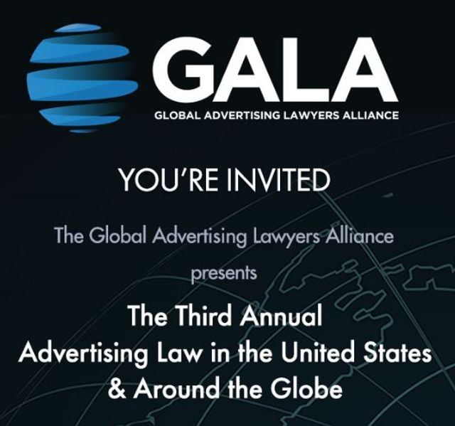 You're Invited:  GALA to Hold International Advertising Law Seminar in NYC featured image